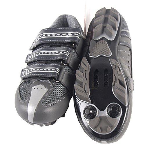 Radsportschuhe für Jungen und Herren Fahrradschuhe MTB Radschuhe (3020d)