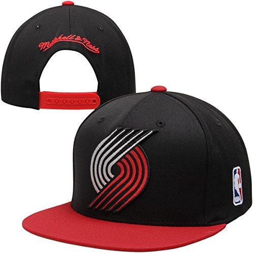 Mitchell & Ness Portland Trail Blazers XL Logo 2 Tone HWC Vintage Classic Adjustable Snapback Hat NBA