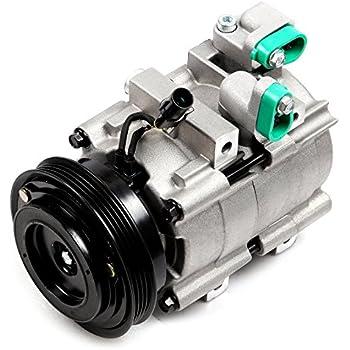 ECCPP A/C Compressor with Clutch fit for 2003-2006 Kia Sorento CO10822C Car Air AC Compressors Kit