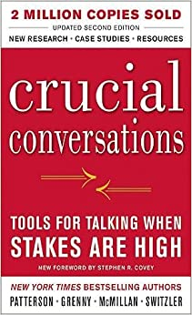 Book Crucial Conversations Tools for Talking When Stakes Are High, Second Edition (Business Books)
