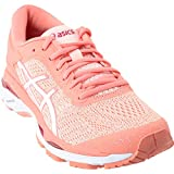 Asics Womens Gel-Kayano 24 Seashell Pink/White/Begonia Pink Running Shoe - 8
