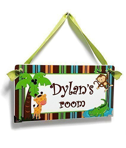 Amazon Com Custom Baby Boy Nursery Door Sign For Kids Bedroom