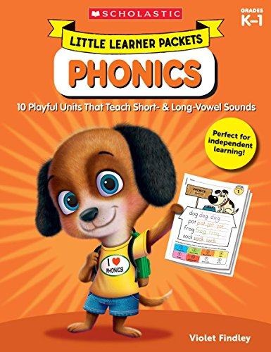 Little Learner Packets: Phonics: 10 Playful Units That Teach Short- & Long-Vowel - Short Blends Vowel