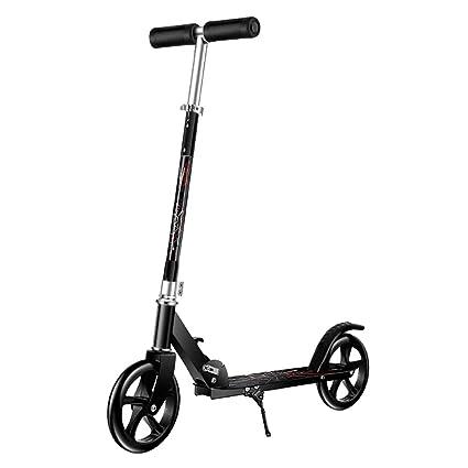 Patinetes de tres ruedas Scooter Plegable para Niños/Adultos, 2 Ruedas, Capacidad De