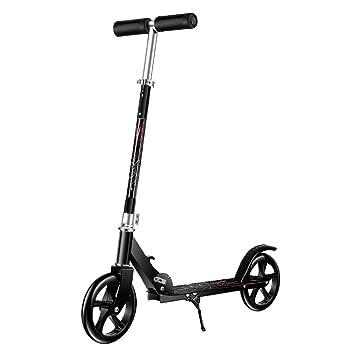 Patinetes de tres ruedas Scooter Plegable para Niños/Adultos ...