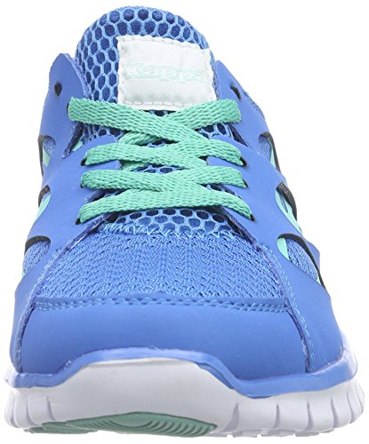 Kappa FOX NC Footwear unisex - zapatilla deportiva de material sintético Unisex adulto azul - Blau (6065 blue/ice)