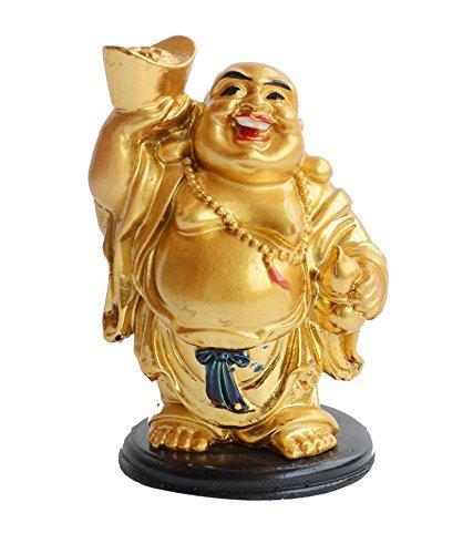 Amazon.com: Buda feliz levantar un Wu Lou y lingote de ...