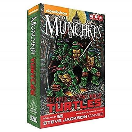 IDW Games idw01527 Munchkin: Teenage Mutant Ninja Turtles ...