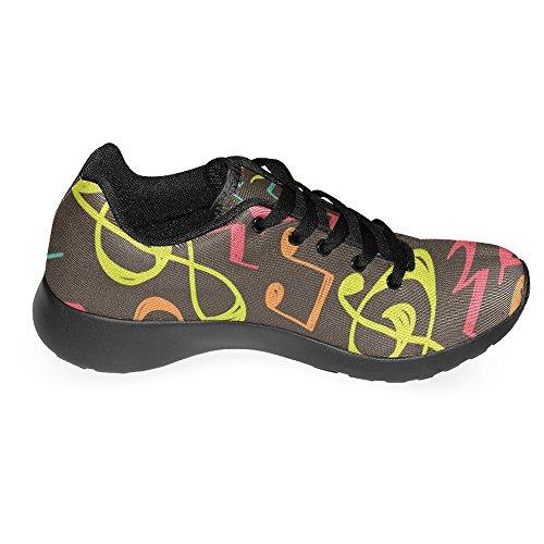InterestPrint Womens Jogging Running Sneaker Lightweight Go Easy Walking Casual Comfort Running Shoes Multi 3 lg3MdaA