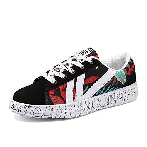 and alte gli da donna Black a sportive Hasag scarpe scarpe studenti basse aiutano primavera nuova A2 Red nqxWcqHw6g