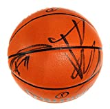 Tim Duncan and Tony Parker San Antonio Spurs Signed Autographed Spalding NBA Game Replica Basketball COA