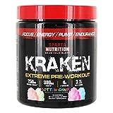 Sparta Nutrition Kraken Extreme Pre-Workout Cotton Candy 11 29 oz 320...