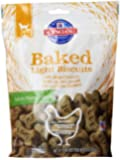 Hill's Science Diet Baked Light Biscuits with Real Chicken Medium Dog Treats, 9-Ounce Pouch