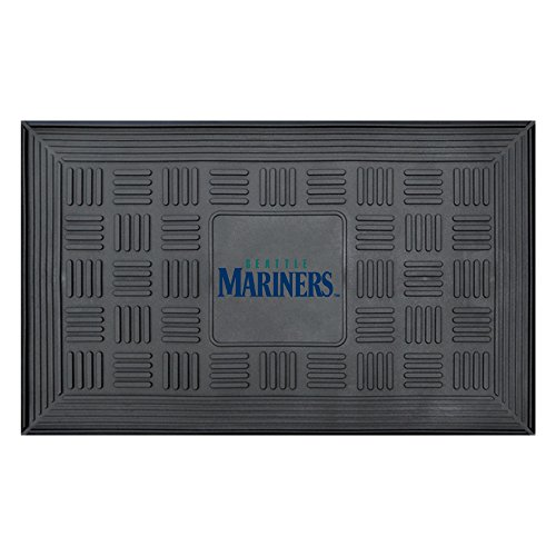 MLB Seattle Mariners 3-D Team Medallion Vinyl Door (Seattle Mariners Door Mat)