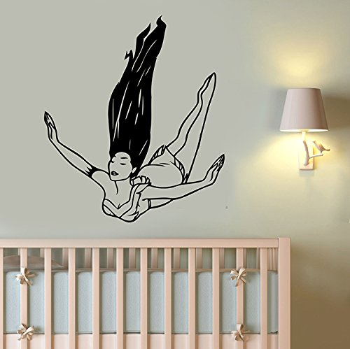 Pocahontas Wall Decal Vinyl Sticker Disney Princess Art Decorations for Home Housewares Kids Girls Room Bedroom Nursery Cartoon Decor (Female Cartoon Characters Names)