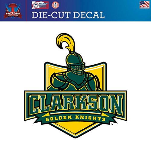 Clarkson University Knights Die-Cut Vinyl Decal Logo 1(Approx 12x12)