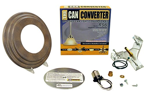 The Can Converter R56 Gothic Bronze Recessed Can Light Conversion Kit for 5