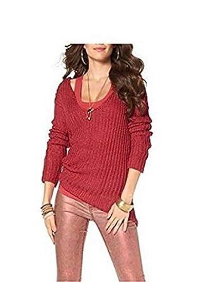 Pullover Rippenstrick Damen von Laura Scott