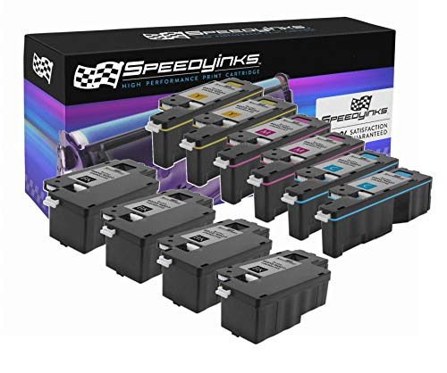 (Speedy Inks Compatible Toner Cartridge Replacement for Xerox Phaser 6022 & WorkCentre 6027 (4 Black 2 Cyan, 2 Magenta, 2 Yellow, 10-Pack))