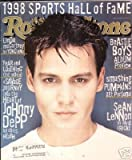 Rolling Stone June 11 1998 #788 Johnny Depp Cover, Linda McCartney by Yoko Ono, Beastie Boys, Smashing Pumpkins, Sean Lennon