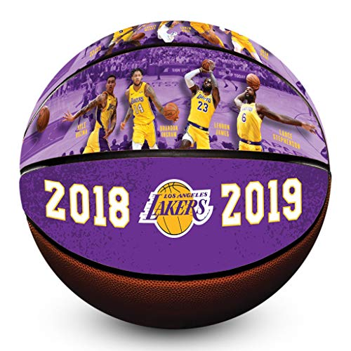 La Lakers Basketball - Los Angeles Lakers 2018/2019 Roster Officially Licensed Premium NBA Basketball