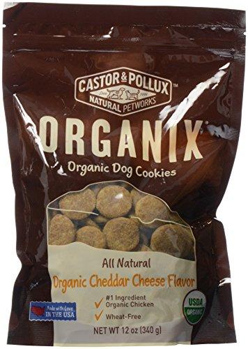 Organix, Organic Dog Treat Cookies Cheddar Cheese, 12 ()