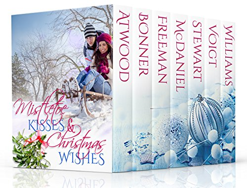 Mistletoe Kisses & Christmas Wishes: A Christmas Romance Boxed Set Book Bundle Collection cover