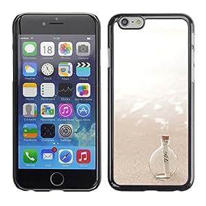 [Neutron-Star] Snap-on Series Teléfono Carcasa Funda Case Caso para Apple (4.7 inches!!!) iPhone 6 / 6S [Message In A Bottle Sea Sun Summer]