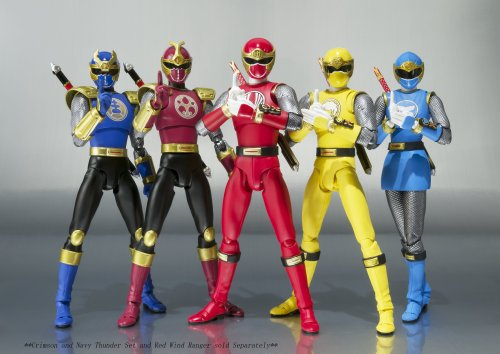 Best Power Ranger Toys And Action Figures : Bandai tamashii nations s h figuarts wind ranger power