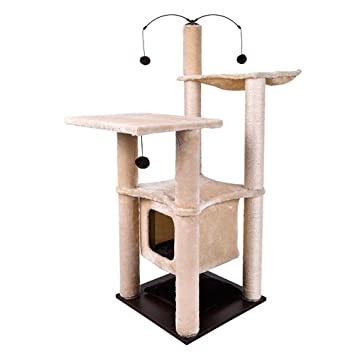 YUIOLI Cat Tree Activity Center Muebles para Torres trepadoras con ...