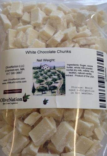 White Chocolate Chunks 32 oz, 32 Ounce
