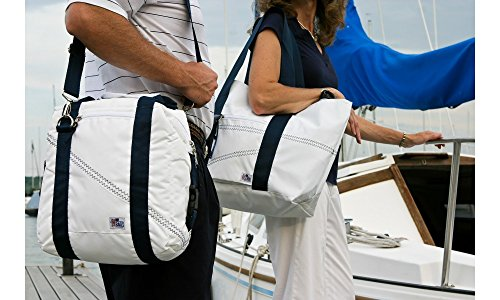 SailorBags 12-pack Insulated Sailcloth Soft Cooler Bag, Blue by SailorBags (Image #3)