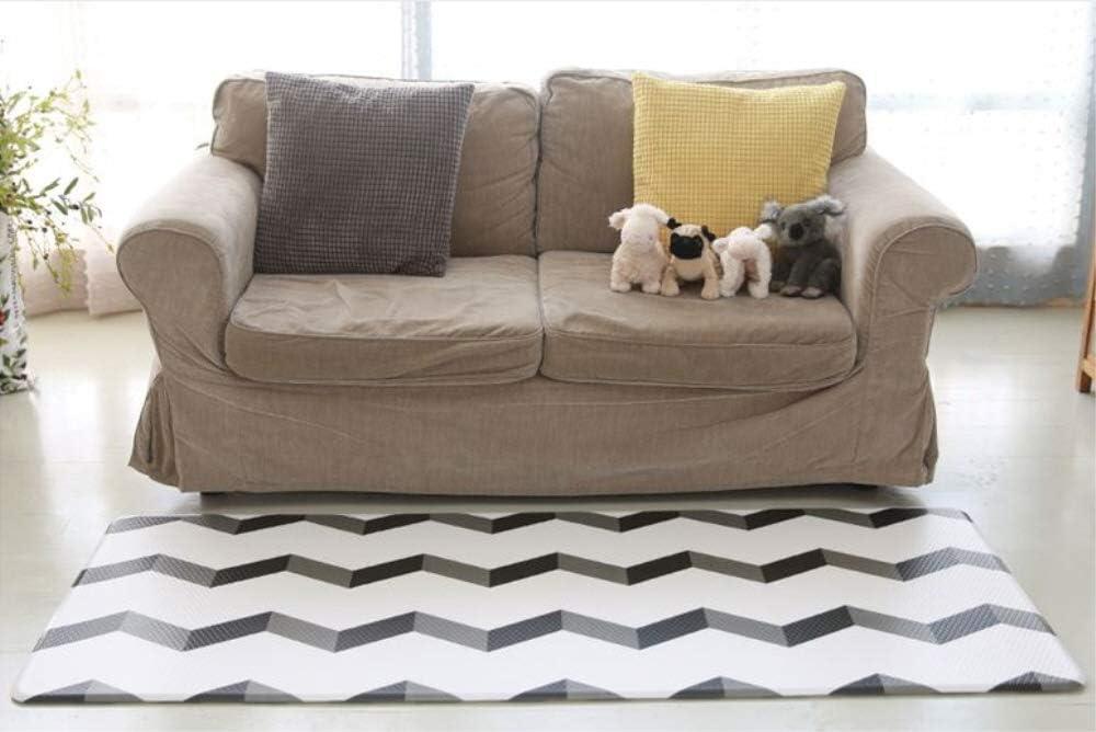 Airliz premium Magic Wave living room mat 層間騒音防止保育園マットリビングマット(海外直送品) (140x200x1.4cm)