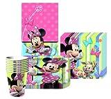 1 X Disney Minnie Mouse Bow-tique Party Kit for 8 by Unique