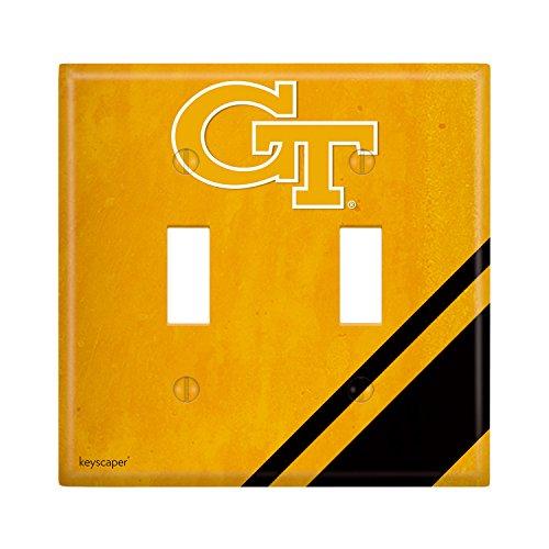 Georgia Tech Double Toggle Light Switch Cover NCAA