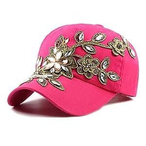 ZHENGYIXIA HAT para Sombreros de Mujer Gorra de béisbol Ajustable ...