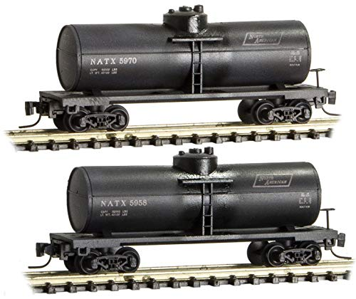 Micro-Trains MTL Z-Scale 39ft. Single Dome Tank Cars, used for sale  Delivered anywhere in USA