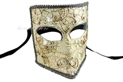 New B (Masquerade Masks Full Face)