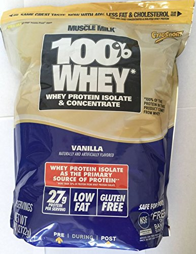 Cytosport 100  Whey Protein Powder  Vanilla  6 Lb  Bag From The Makers Of Muscle Milk