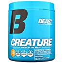 Beast Sports Creature Creatine Complex- 5 High Quality Forms of Creatine including Creatine Monohydrate. Build Muscle Fast. 2 Time Creatine Supplement of the Year. 300 Gms*, 60 Servings, Citrus