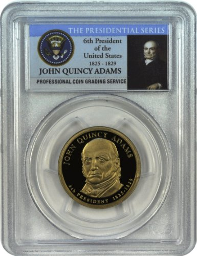 John Quincy Adams Dollar Coin (2008 S John Quincy Adams Dollar DCAM PCGS PR69)