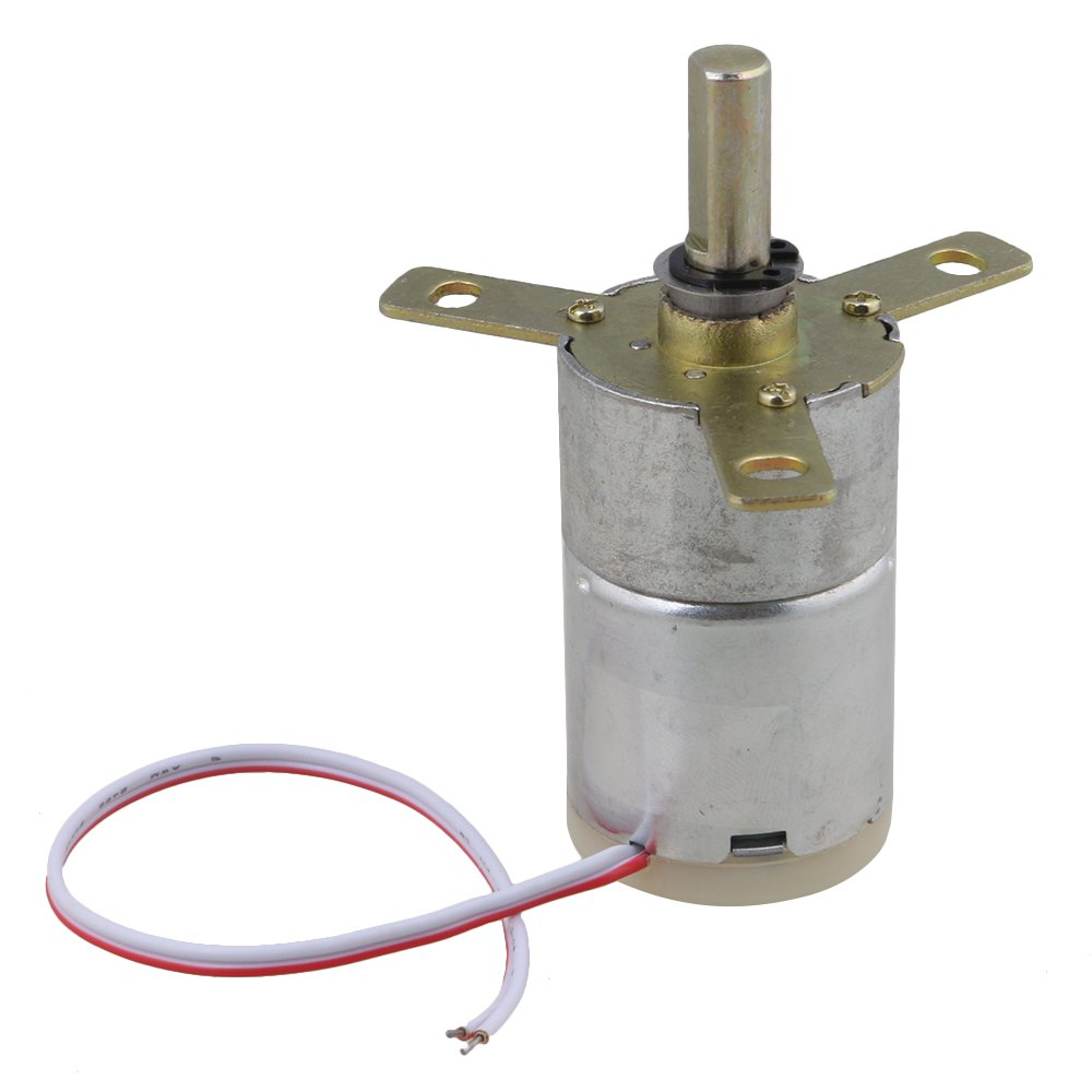 BQLZR High Torque 12V DC 25 RPM Gear-Box Stabilivolt Electric Motor Replacement