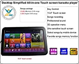 Desktop Touch Screen All-In-One Karaoke Player Free Cloud download 2000G HDD 28K Songs Mandarin+ English Select Songs Both Via Touch Screen And Mobile Device