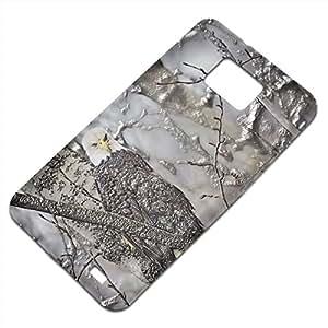 Pájaro 10030, Aguila, Embossed Caso Carcasa Funda Duro Gel TPU Protección Case Cover, Diseño con Textura en Relieve para Samsung S2 i9100 i9200.