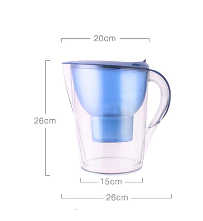 AA-SS Filtro de Agua portátil del Grifo del purificador Neto del Agua del hogar con la Botella de Agua del Filtro del Filtro: Amazon.es: Hogar