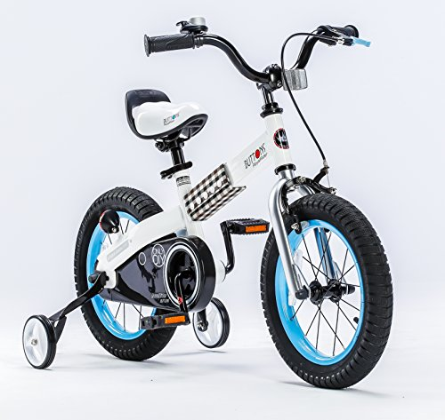 Royalbaby CubeTube Kid's bikes, unisex children's bikes with training wheels