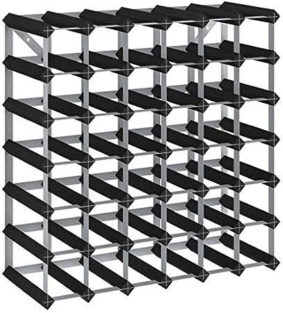 Color: Negro,Material: Madera maciza de pino, acero galvanizado,Dimensiones: 61,5 x 22,5 x 61,5 cm (