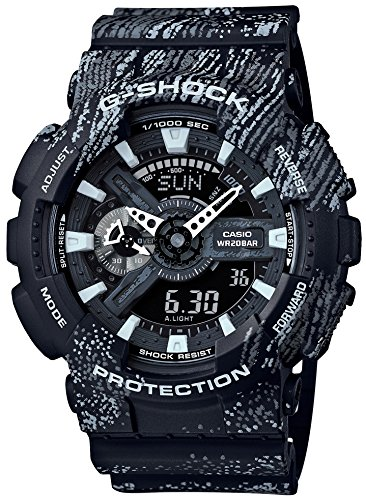 CASIO G SHOCK TEXTURE GA 110TX 1AJF JAPAN