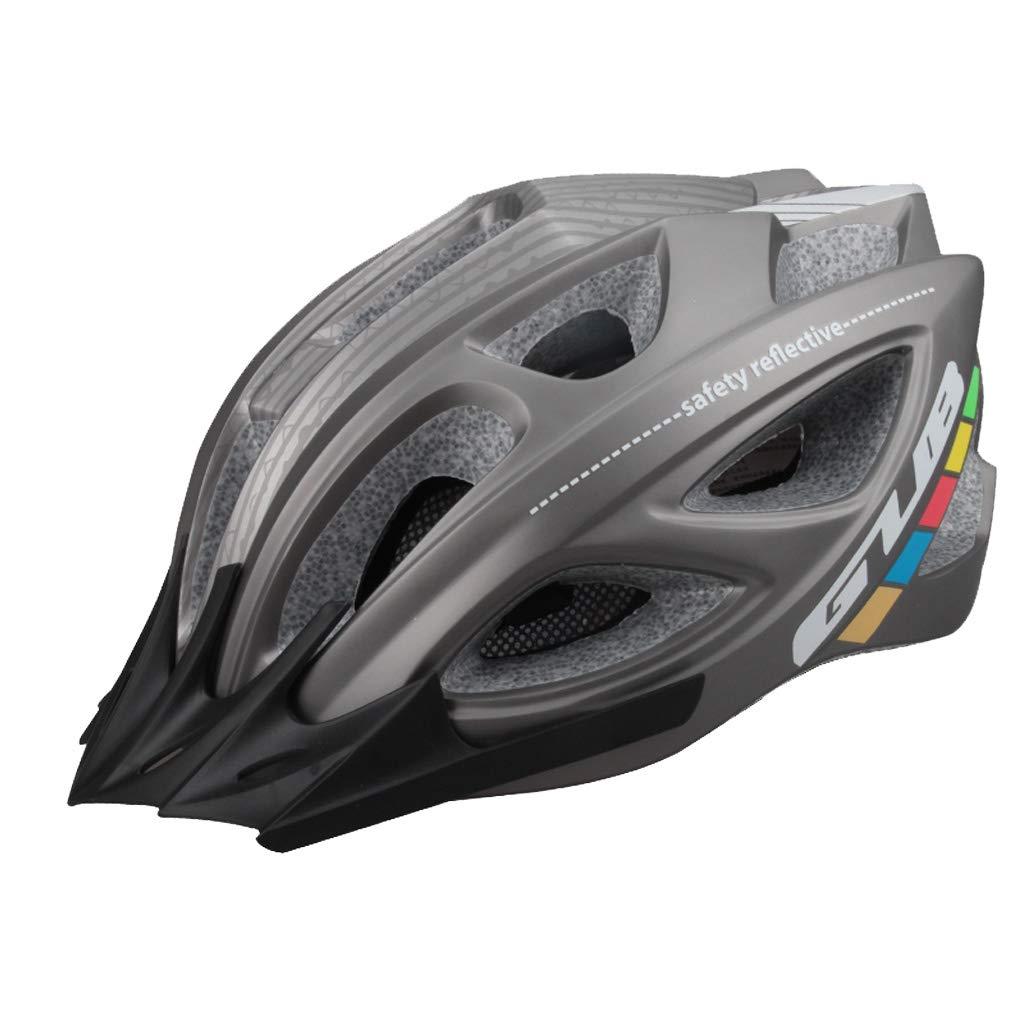 Fahrradhelm Schutzhelm Ultra Light Integrierter Form Helm Fahrradweg (Farbe   2)