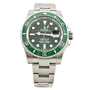Rolex Submariner automatic-self-wind mens Watch 116610LVCER (Certified Pre-owned)